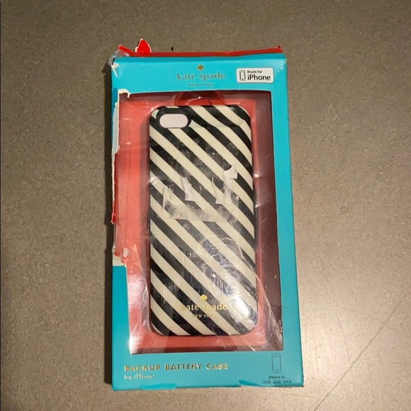 Kate Spade Battery Backup Case iPhone 5s